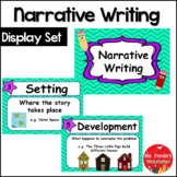 Narrative Writing Poster Set
