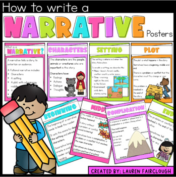 Narrative Writing Posters