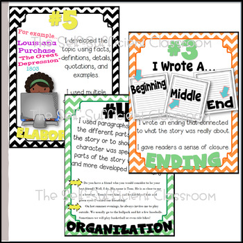 5th Grade Narrative Writing Posters