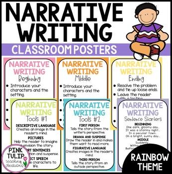 Narrative Writing Posters - Classroom Decoration