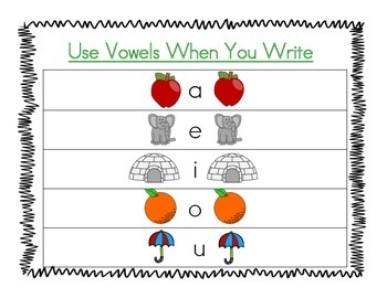 Narrative Writing Posters - Kindergarten
