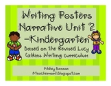 Narrative Writing Posters - Kindergarten