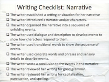 Narrative Writing Power Point Presentation