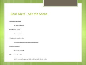 Narrative Writing PowerPoint and Student Writing Generator