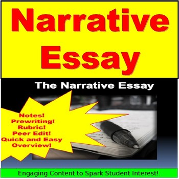 Narrative Writing PowerPoint with Rubric