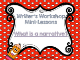 (Narrative writing) Writer's Workshop mini-lesson for 1st