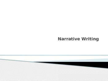 Narrative Writing Powerpoint - Elementary Timed Writing Te