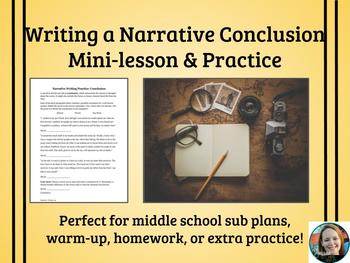 Narrative Writing Practice-Conclusions