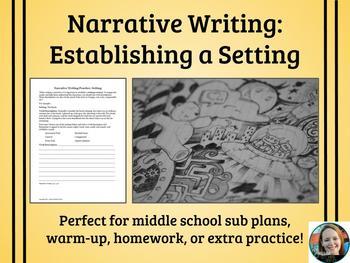 Narrative Writing Practice-Setting