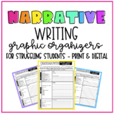 Narrative Writing Pre-writing for Struggling Students