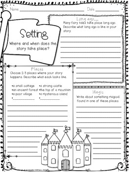 Narrative Writing: Create a Fairy Tale