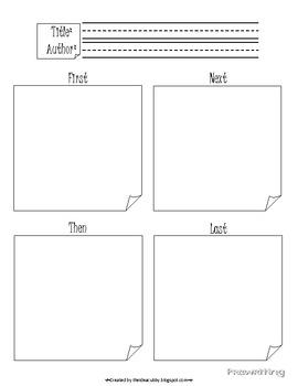 Narrative Writing Process Packet