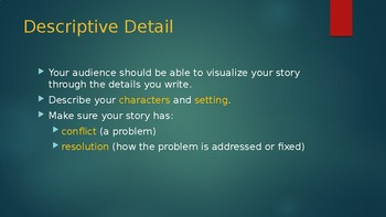 Narrative Writing Project