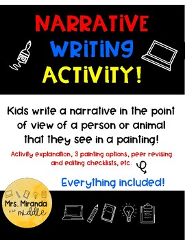 Narrative Writing Project - Using Pictures!