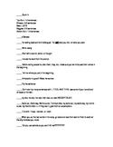 Narrative Writing Prompt Checklist