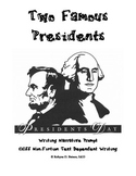 Narrative Writing Prompt Folder (Presidents)