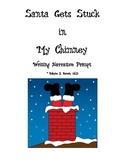 Narrative Writing Prompt Folder (Santa Stuck)