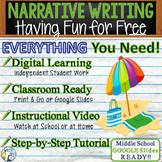 Personal Narrative Writing Essay Prompt with Graphic Organizer, Rubric -Free Fun