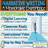 Narrative Writing Essay Prompt w/ Graphic Organizer, Rubric Memorable Experience