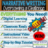 Narrative Writing Essay Prompt w/ Graphic Organizer, Rubric  Beating a Challenge