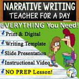 Personal Narrative Writing Essay Prompt w/ Graphic Organizer, Rubric - Teaching