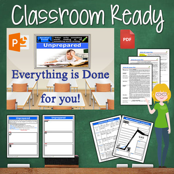 Narrative Writing Lesson / Prompt – with Digital Resource – Unprepared