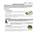 3 Narrative Middle School Prompts and Common Core Revision Checklist