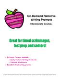 On-Demand Narrative Writing Prompts