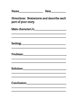 Narrative Writing Prompts, Descriptive Adjectives lists, Dialogue, SBA Prep