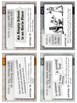 Narrative Writing Prompts: TASK CARDS