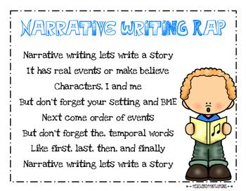 Narrative Writing Rap
