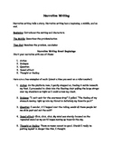 Narrative Writing Reference Sheet