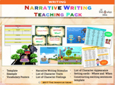 Narrative Writing Resources Bundle for Primary