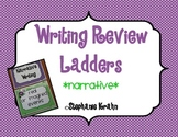 Narrative Writing Review Ladder - Monster Theme