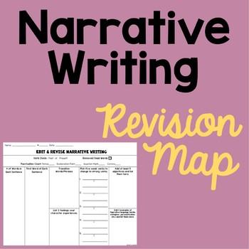Narrative Writing Revision Map