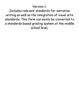 Narrative Writing Rubric Grade 7