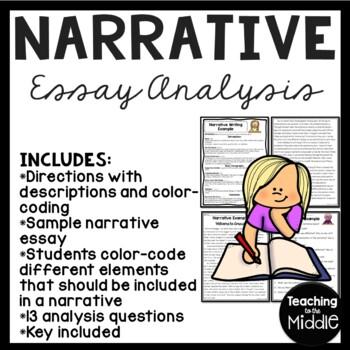 analyze writing sample
