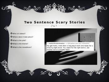 Narrative Writing: Scary Story/Halloween Warm Up