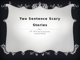 Narrative Writing: Scary Story/Halloween Warm Up