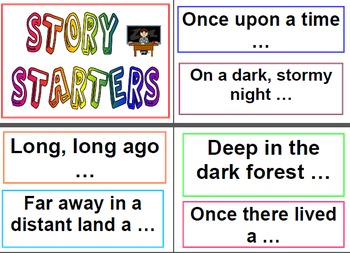 Literacy - Narrative Writing Set - Visual Prompt Posters