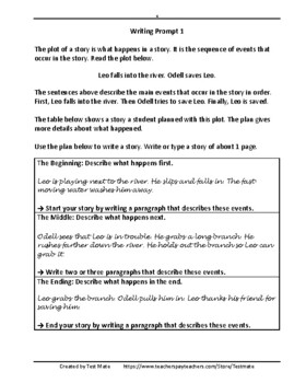 Narrative Writing Skills: Understanding Plot (Common Core Writing)