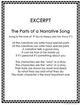 Narrative Writing Song Lyrics