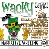 Narrative Writing - St. Patrick's Day Task Cards - Standar