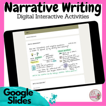 Narrative Writing Step by Step