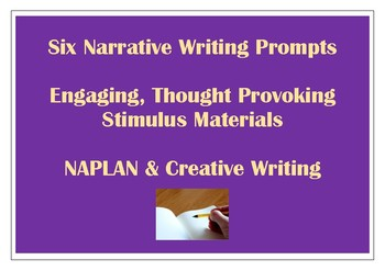 Narrative Writing Stimulus Prompts