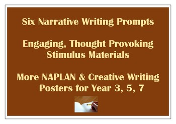 Narrative Writing Stimulus Prompts NAPLAN