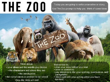 Creative writing zoo