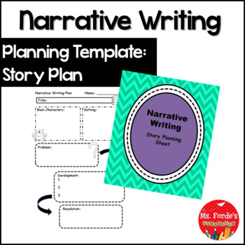 Narrative Writing Story Map/Planner