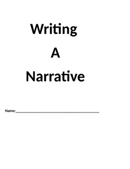 Narrative Writing Student Packet