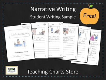 First/Second Grade Narrative Writing Student Writing Sample